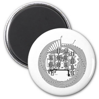 Circuit 2 Inch Round Magnet