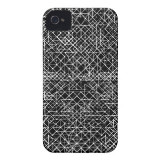 Circuit Black And White iPhone 4 Case-Mate Case