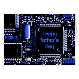 Circuit Blue 2 'Father's Day' greetings card