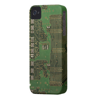Circuit board background iPhone 4 case