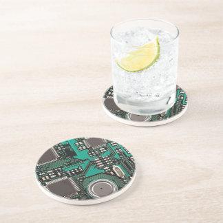 Circuit board beverage coaster