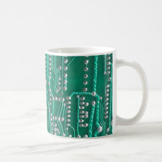 Circuit board coffee mug
