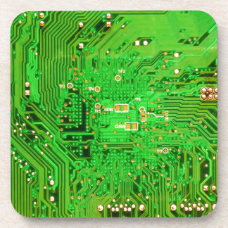 Circuit Board Design Coasters