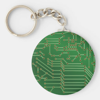 Circuit board design keychain