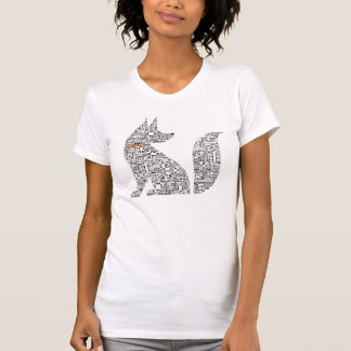 Circuit Board Dog illustration T-Shirt