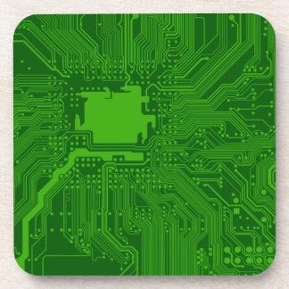 Circuit Board Drink Coaster