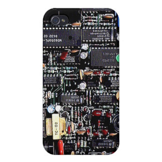 Circuit Board iPhone 4 Case