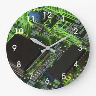 circuit board large clock