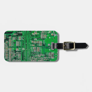Circuit Board Luggage Tag