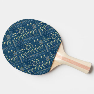 Circuit Board Paddle - Blue