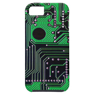 Circuit board (pcb) - green color iPhone 5 cover