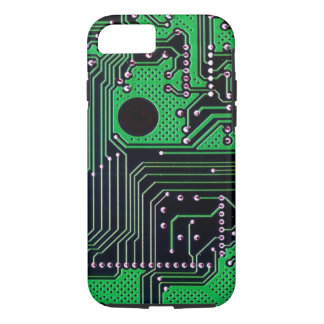 Circuit board (pcb) - green colour iPhone 7 case
