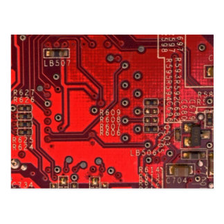 circuit board postcard