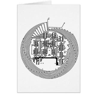 Circuit Greeting Card