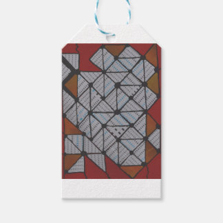 Circuit grid gift tags