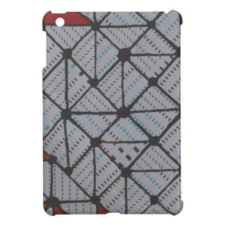 Circuit grid iPad mini case