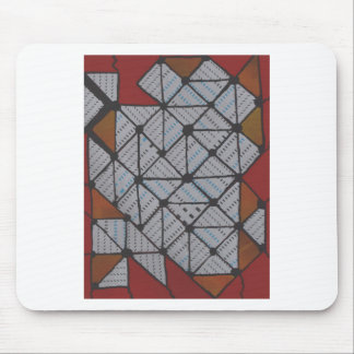 Circuit grid mouse pad
