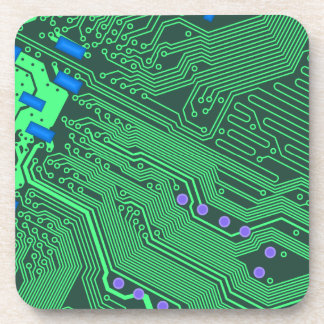 Circuit Pattern Coaster