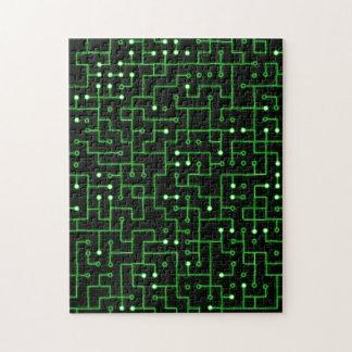 Circuitboard Jigsaw Puzzle