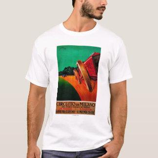 Circuito Di Milano Vintage PosterEurope T-Shirt