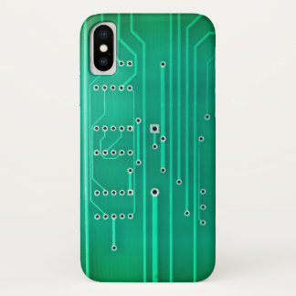 Circuitry iPhone X Case