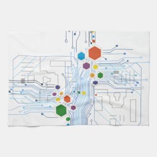 Circuitry Kitchen Towel