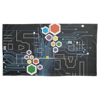 Circuitry Pillowcase