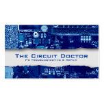 Circuits électroniques de carte de visite de