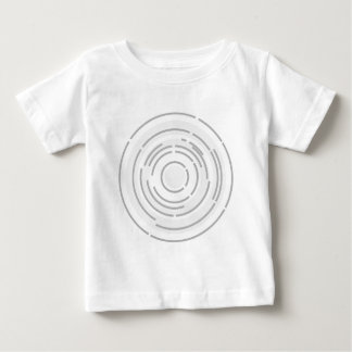 Circular Abstract Background Baby T-Shirt