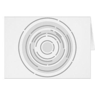 Circular Abstract Background Card