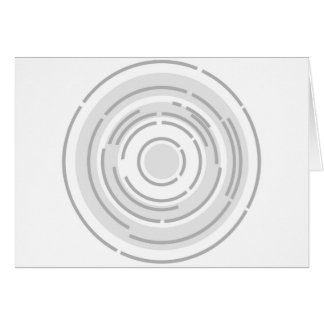Circular Abstract Background Card
