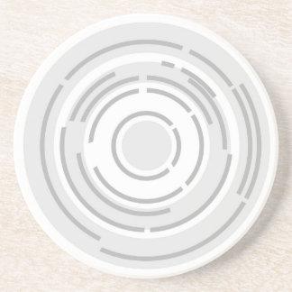 Circular Abstract Background Coaster