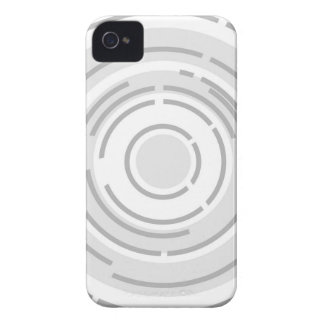 Circular Abstract Background iPhone 4 Case-Mate Cases