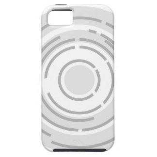 Circular Abstract Background iPhone 5 Case