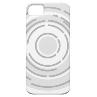 Circular Abstract Background iPhone 5 Covers