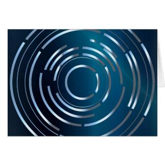 Circular Background Card