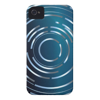 Circular Background iPhone 4 Case