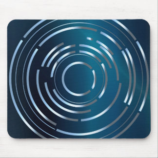 Circular Background Mouse Pad