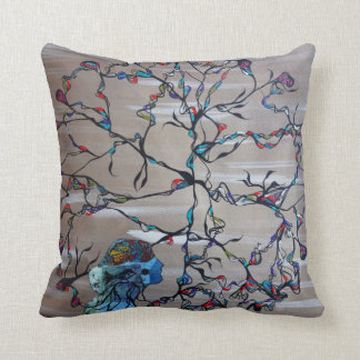 Circular Comfort Throw Pillow