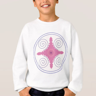 Circular Design Motif Template for Custom Text Sweatshirt