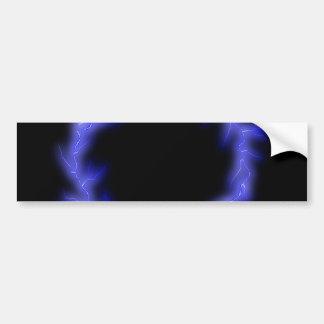Circular Lightning Bumper Sticker