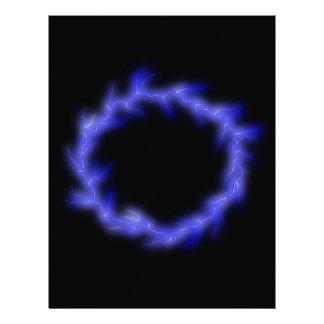 Circular Lightning Letterhead