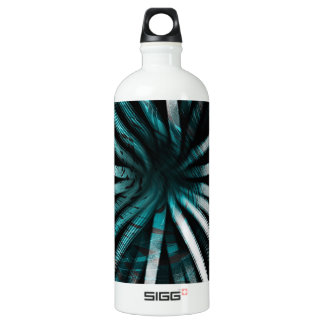 Circular Lines Aqua - SIGG Water Bottle