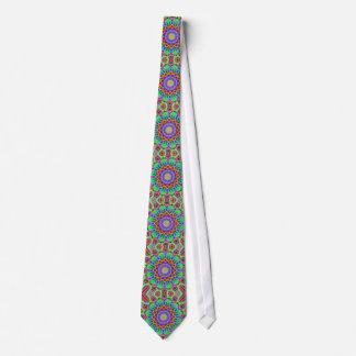 Circular Mandala Graphic Tie