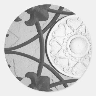 Circular Medallion sticker