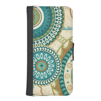 Circular Patterns iPhone SE/5/5s Wallet Case