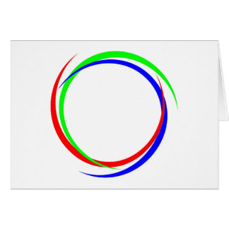 Circular RGB Logo Card
