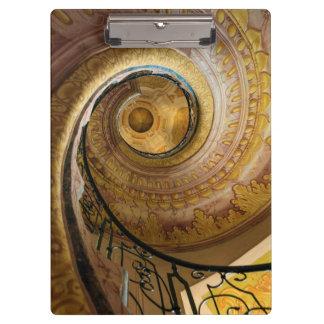 Circular spiral staircase, Austria Clipboard
