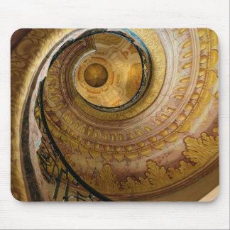 Circular spiral staircase, Austria Mouse Pad