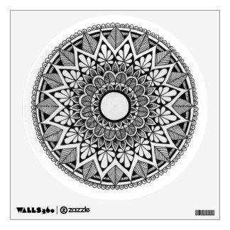 Circular Style Wall Decal with Mandala